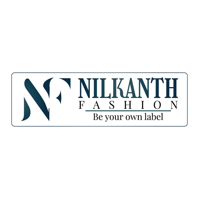 Nilkanth Fashion Logo Design Trigontic